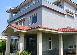 竹北獨棟個人住宅-外牆改造後-Wallplus外牆更新專科工法