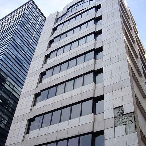 臺北基隆路華固大樓外牆使用SA工法更新前