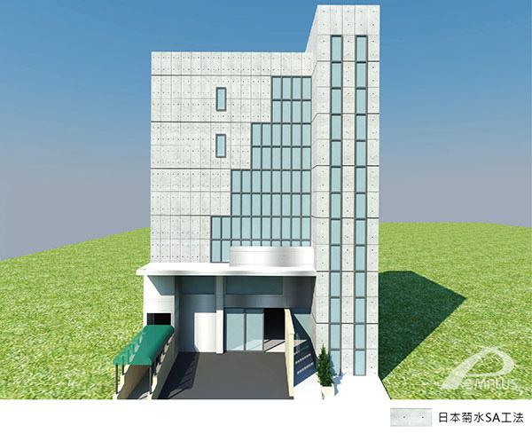 新莊獨棟住宅-外牆改造3D模擬-Wallplus外牆更新專科工法