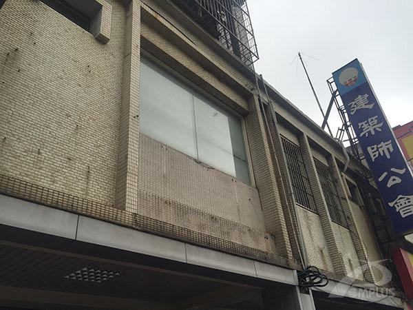 桃園建築師公會辦公室-外牆改造前-Wallplus外牆更新專科工法