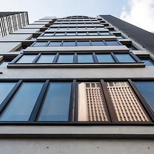 華固世貿大樓-外牆改造後-Wallplus外牆更新專科工法
