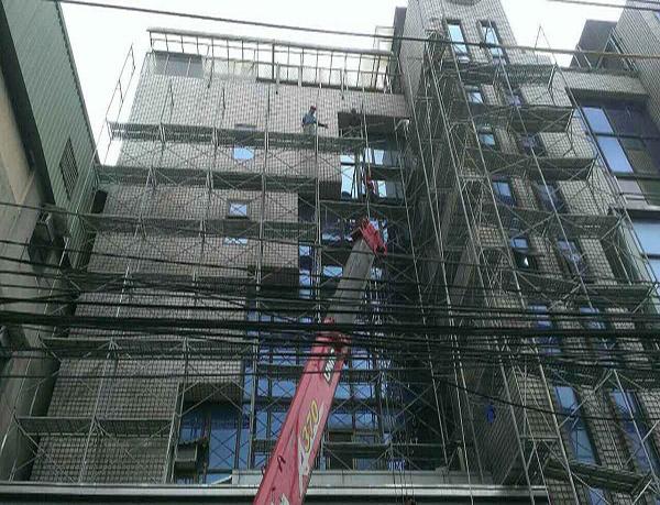 新莊獨棟住宅-外牆改造中-Wallplus外牆更新專科工法