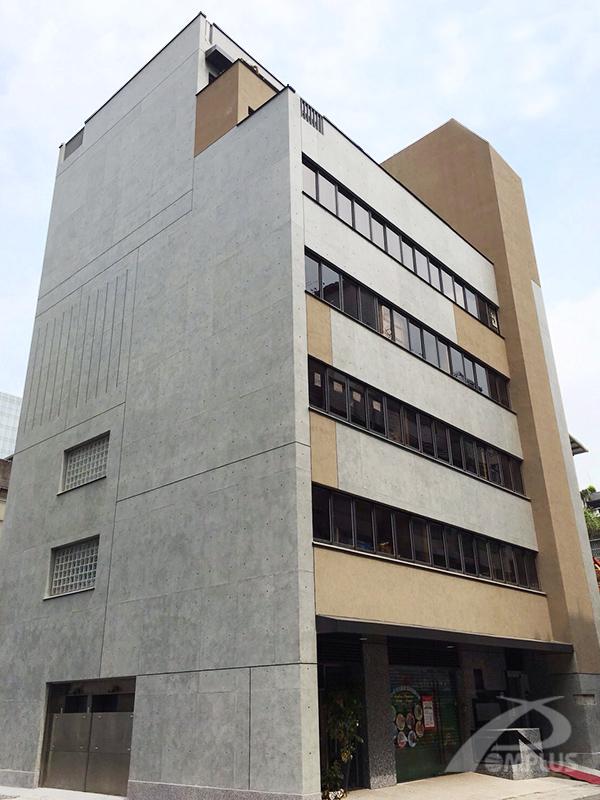 台北聯合報大樓-外牆改造後-Wallplus外牆更新專科工法