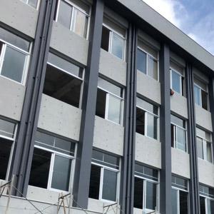 板牆商辦大樓_外牆改造後-Wallplus外牆更新專科工法