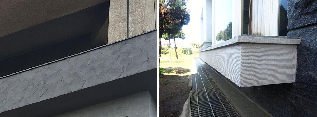 GR耐候仿石造型厚塗工法-Wallplus外牆更新專科工法