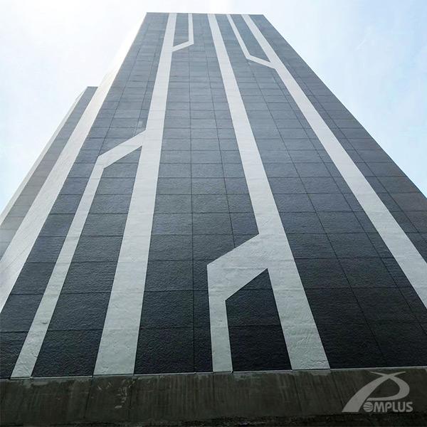 台北市三菱電梯辦公大樓_完工-Wallplus外牆更新專科工法